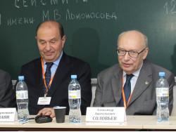Слева направо:  А.Д.Гвишиани, А.А.Соловьев