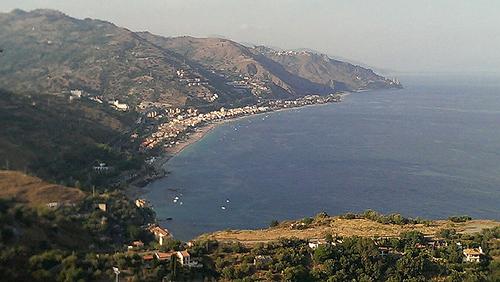 Сицилия северо восточное побережье
